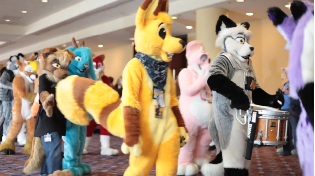 Plushies and furries convention